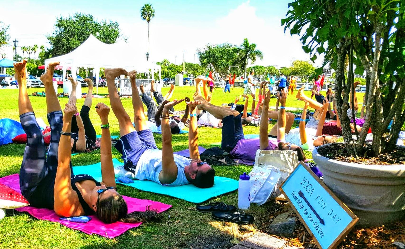 Space Coast Yoga Fun Day